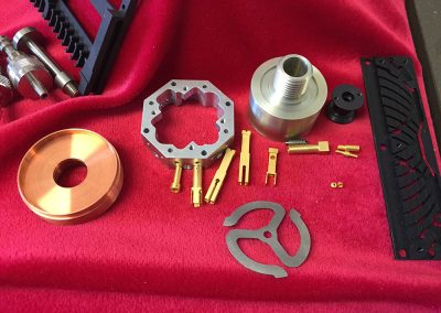 Wide array of machining capabilities